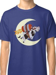 The Cow's Successful Mission Over The Moon Classic T-Shirt