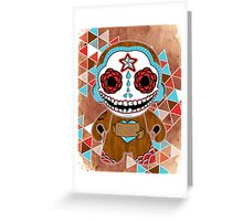 Te Amo, Said the Sugar Skull Greeting Card