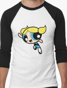 Bubbles PPG xo Men's Baseball ¾ T-Shirt