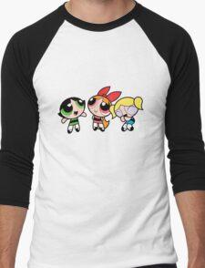 PowerPuff Girls xo Men's Baseball ¾ T-Shirt
