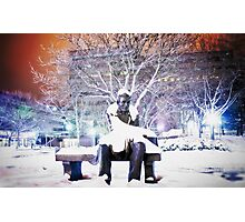Shrouded Lincoln Photographic Print