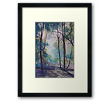Early Morning Bushwalk Framed Print