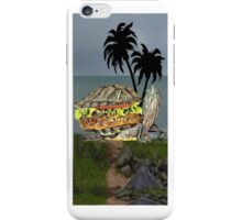 ☝ ☞ LUNCH BEING SERVED ON TURTLE ISLAND IPHONE CASE☝ ☞ iPhone Case/Skin