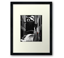 The Minor Fall And The Major Lift.... Framed Print