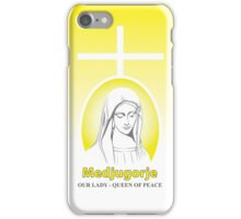 Medjugorje Our Lady Mother Mary iPhone Case/Skin