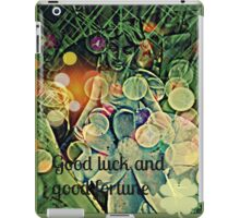 good luck and good fortune iPad Case/Skin