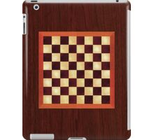 iPad Chess Board, Timber Over Technology iPad Case/Skin