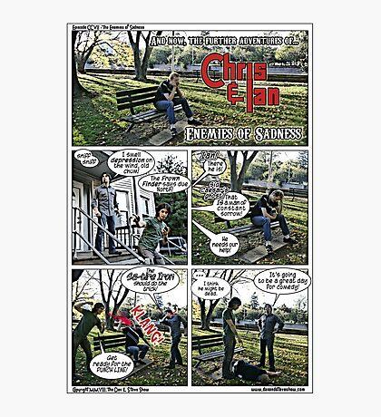 Fight Depression Photographic Print