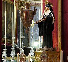 Saint Rita of Cassia by fajjenzu