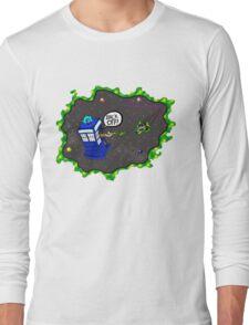 Tardis VS Delorean Long Sleeve T-Shirt