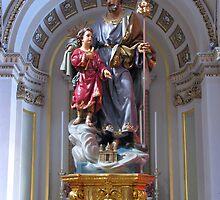 Saint Joseph by fajjenzu