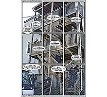 The Future of Comics Photographic Print