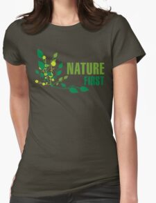 Nature First Womens Fitted T-Shirt