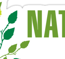 Nature First Sticker