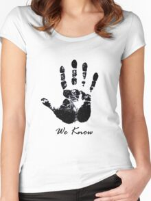 The Dark Hand Women's Fitted Scoop T-Shirt