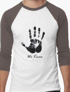 The Dark Hand Men's Baseball ¾ T-Shirt