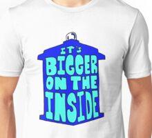 It's Bigger on the Inside Tardis Unisex T-Shirt