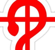 Share Favorite FullMetal Alchemist Flamel Red Sticker