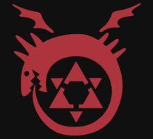 FullMetal Alchemist Uroboro [red] by Robin Kenobi