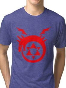 FullMetal Alchemist Uroboro [red] Tri-blend T-Shirt