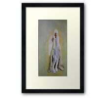 """""""The girl who did it"""" Framed Print"""