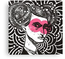 Bunhead - Rose coloured glasses Canvas Print
