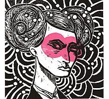 Bunhead - Rose coloured glasses Photographic Print