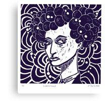 Bubblehead Canvas Print