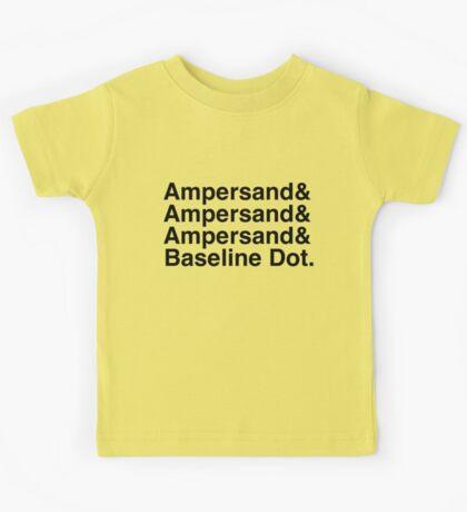 The Ampersands Kids Tee