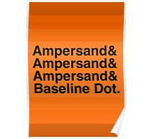 The Ampersands Poster