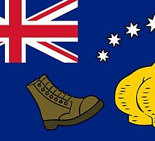 New Australia Flag by boxsmash
