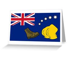 New Australia Flag Greeting Card