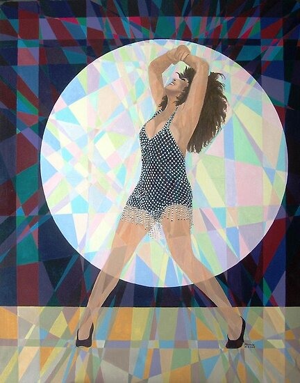 Prismatic Tina Turner by Joseph Barbara