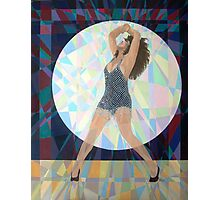 Prismatic Tina Turner Photographic Print