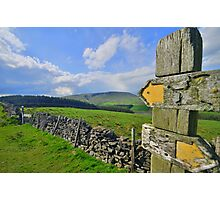 Lancashire: Witch Way to Pendle Hill ? Photographic Print