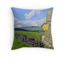 Lancashire: Witch Way to Pendle Hill ? Throw Pillow