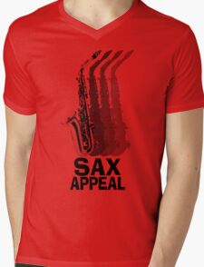Sax Appeal Mens V-Neck T-Shirt