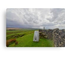 Lancashire: Knarrs Hill Metal Print