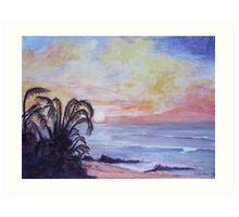 Tongaat Beach, Natal South Africa Art Print
