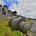 The Peak District: Millstones at Stanage Edge by Rob Parsons