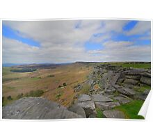 The Peak District: Stanage Edge Poster