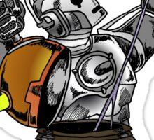 Cyber vs Dalek Sticker