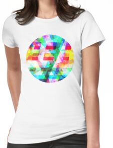 ROUND Womens Fitted T-Shirt