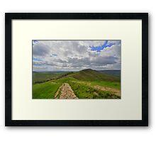 The Peak District: Rushup Edge Framed Print