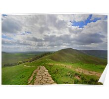 The Peak District: Rushup Edge Poster