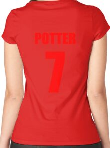 Potter 7 Top Women's Fitted Scoop T-Shirt