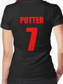 Potter 7 Top Women's Fitted V-Neck T-Shirt