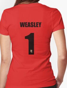 Weasley 1 Top Womens Fitted T-Shirt