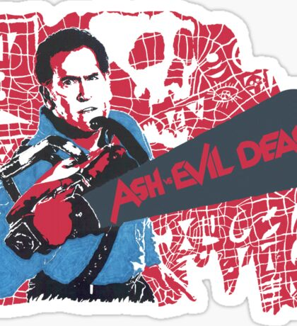 Ash vs. Evil Dead Sticker