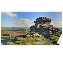 The Peak District: Mother Cap Poster